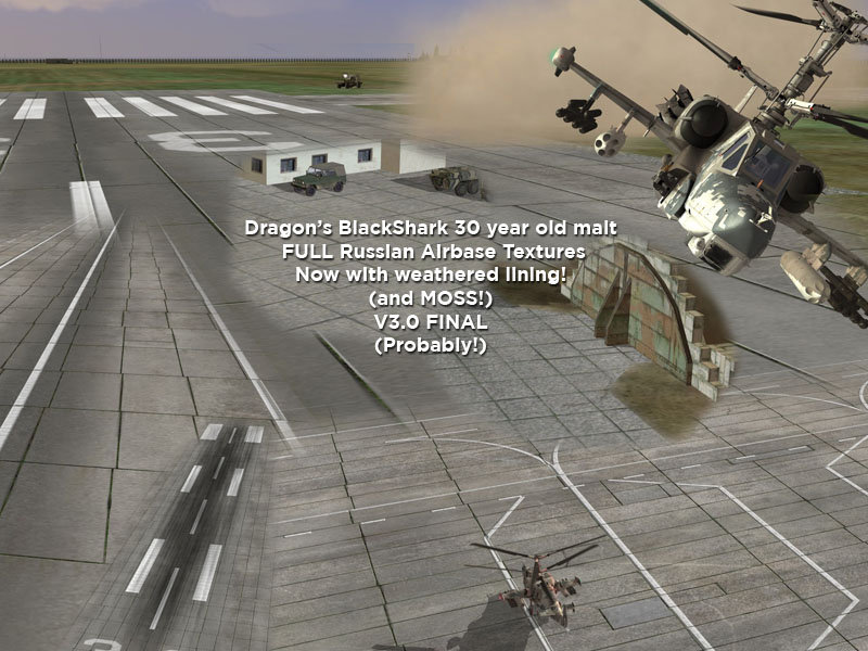 Worn Russian Airbase Textures by Dragon